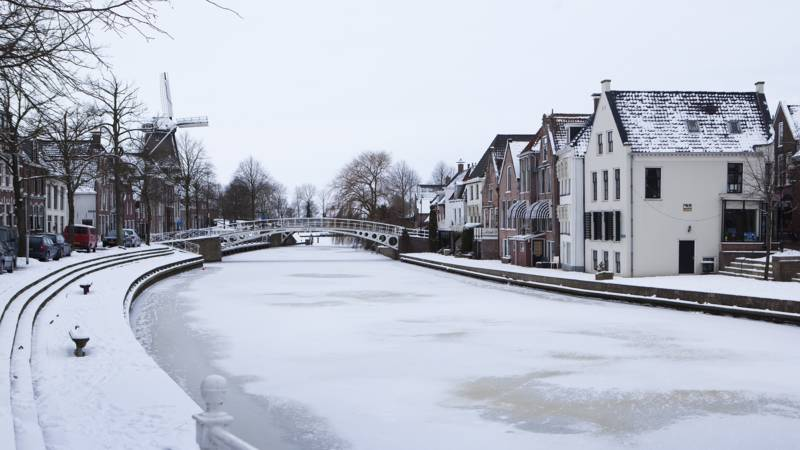 Dokkum in de winter ANP