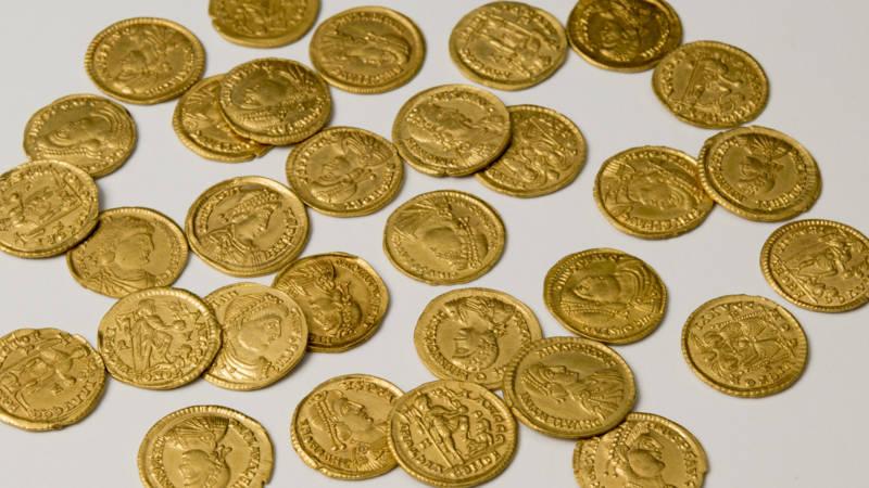Lienden Blijkt Goudmijn Voor Romeinse Munten Nos