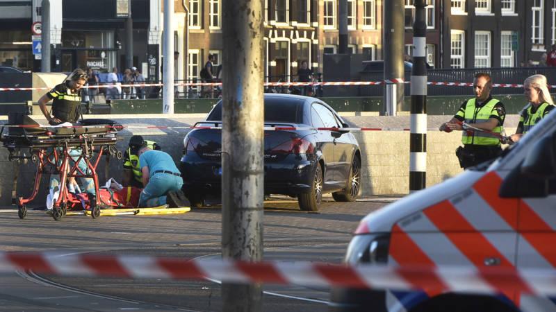 Politie: aanrijding bij Centraal was echt niets anders dan ongeluk.