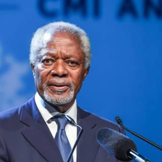 Bekijk details van Oud-VN-topman Kofi Annan (80) overleden