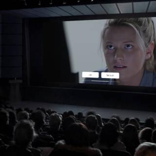 Vechten of vluchten: de bioscoopbezoeker bepaalt