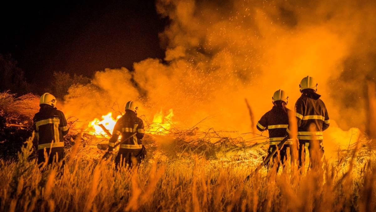 Natuurbranden Oost-Brabant en Terschelling door droogte