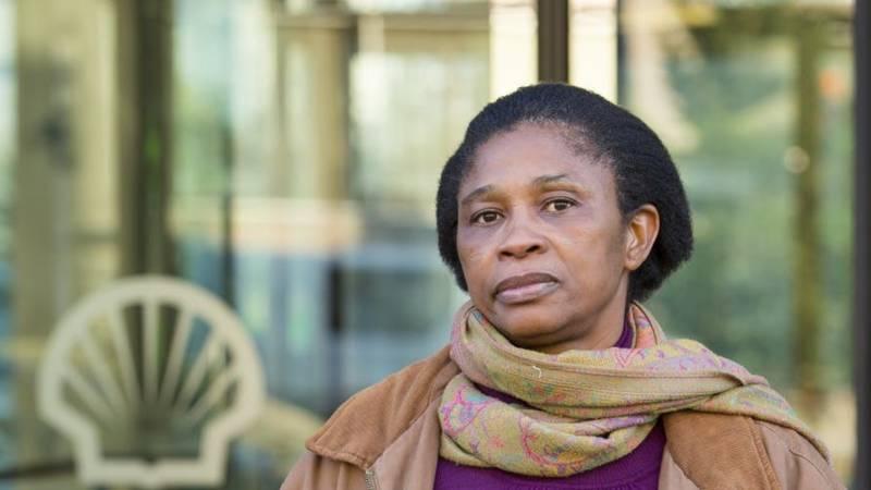 Esther Kiobel, widow of Barinem Kiobel, one of the Ogoni 9, Amnesty International photo