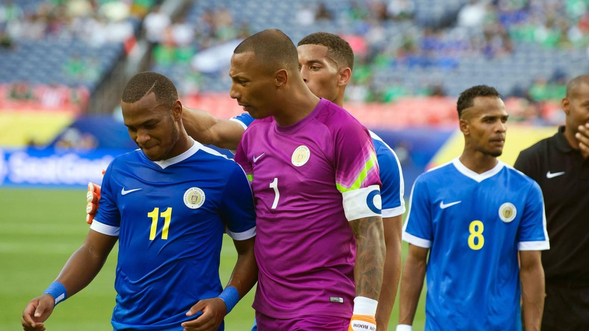 Afbeeldingsresultaat voor voetbalteam curacao gold cup