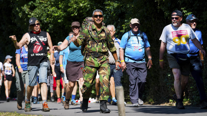 Uitgelote militairen mogen alsnog meedoen aan Nijmeegse Vierdaagse