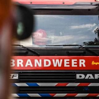 Rookoverlast door brand in Botlek