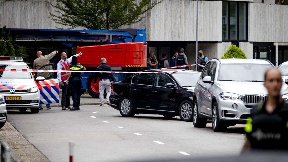 Gijzeling op Mediapark beëindigd; slachtoffer kende dader niet