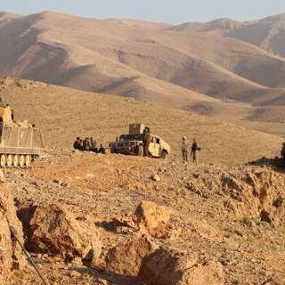 Bolwerk IS op grens Syrië en Libanon onder vuur
