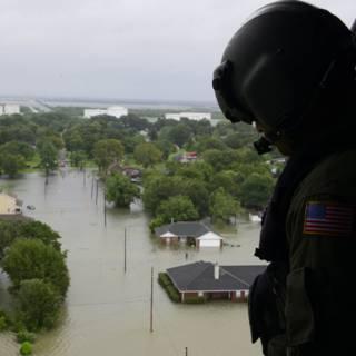 Honderdduizend huizen in Texas beschadigd door Harvey