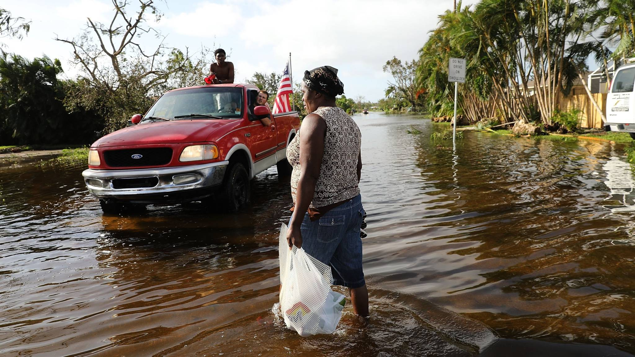 Dodental door Irma opgelopen tot 46, zeker 11 doden in de VS