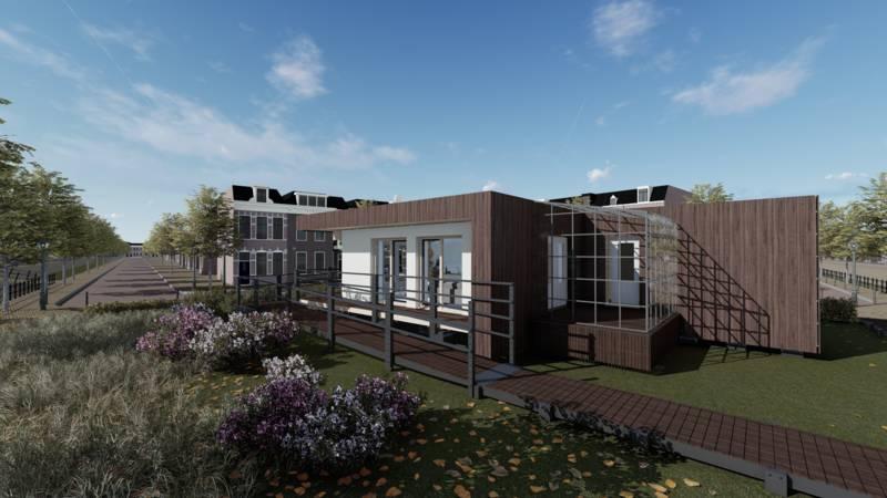 Landelijk Huis Nyc : Wedstrijd voor studenten bouw in dagen een duurzaam huis nos