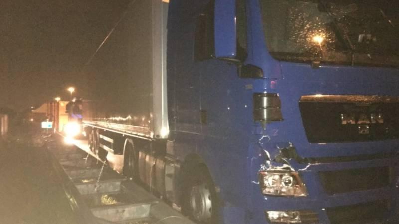 Dode door aanrijding met vrachtwagen.