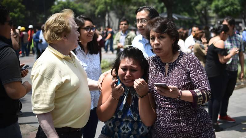 Nieuw aardbevingsdrama in Mexico: ruim 200 doden