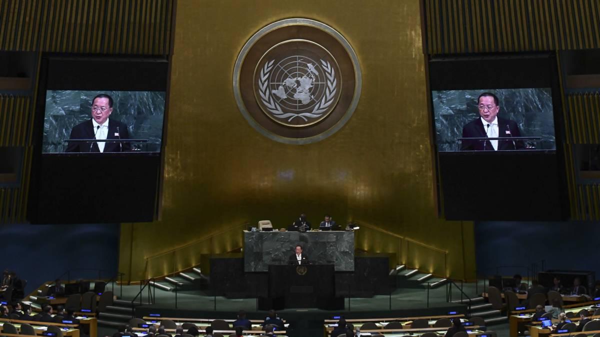 Noord-Korea dreigt in VN met 'meedogenloze actie'; VS laat spierballen zien