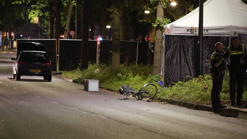 Aanhoudingen na dodelijk ongeval met fietser Rijswijk.