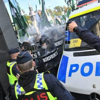 Tientallen arrestaties bij demonstratie antisemitische Zweden