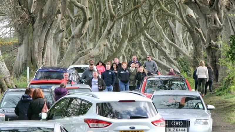 Game of Thrones-weg afgesloten vanwege te grote populariteit