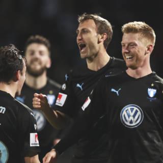 Malmö FF pakt twintigste landstitel in Zweden