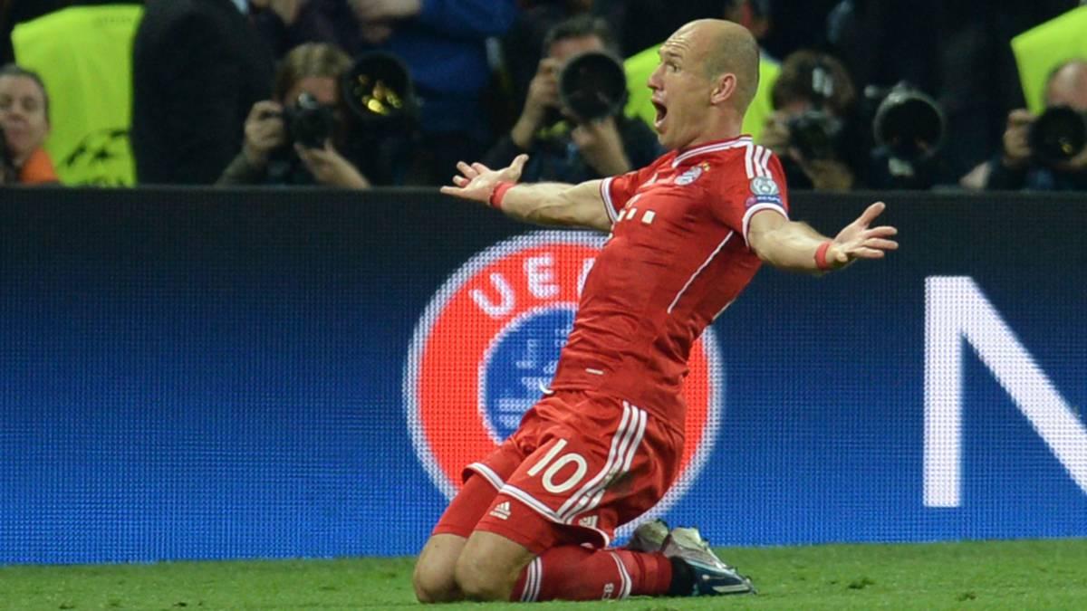 100 keer Robben in de Champions League