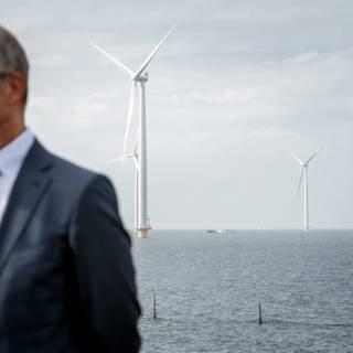 Henk Kamp vocht niet tegen maar voor de windmolens