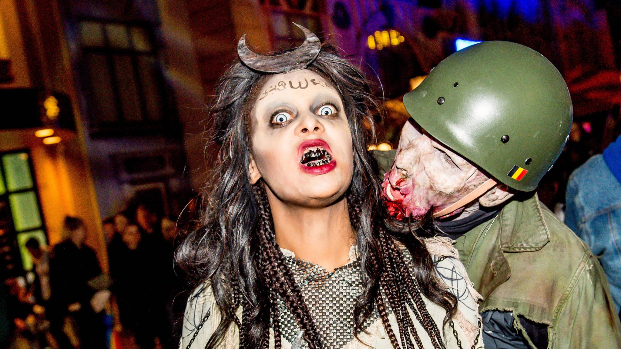 Halloween Afkomst.Week In Beeld Halloween Dag Van De Doden En Allerzielen Nos