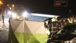 Bestuurder overleden bij ongeval op A32 Akkrum.