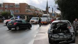 Verkeerschaos in Voorhout na botsing op spoorwegovergang.