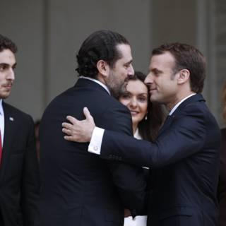 Hariri geeft pas in Beiroet opening van zaken