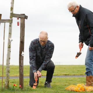 MH17-monument elk seizoen mooi: 170.714 bloembollen geplant