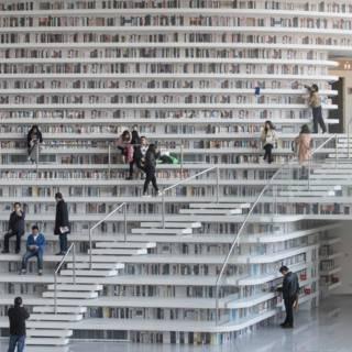 Nederlandse futuristische bibliotheek een hit in China