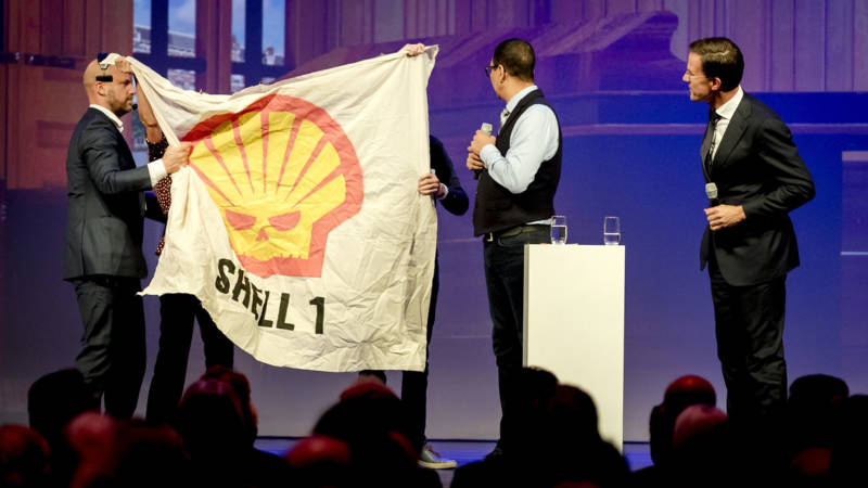 Shell demonstration at VVD conference