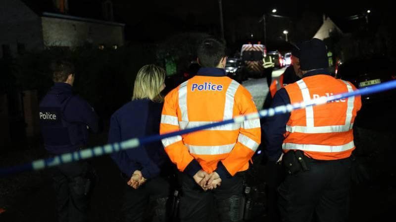 Doden bij ongeluk met spoorwerkers in België.