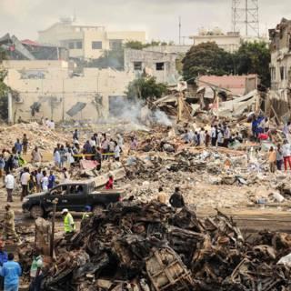 Aanslagen in Mogadishu van vorige maand kostten veel meer levens