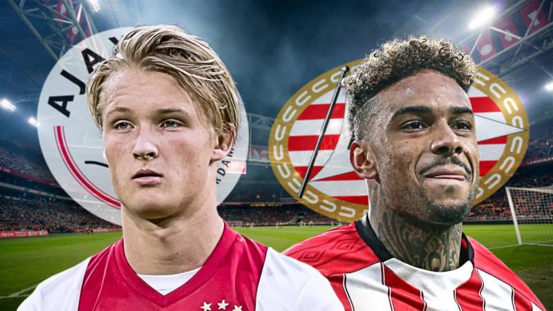 Ajax Legt Psv Over De Knie Op Eredivisiezondag Vol Sneeuw Nos