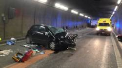 Doden bij ongeluk in Gotthard-tunnel, verkeer al uren gestremd.