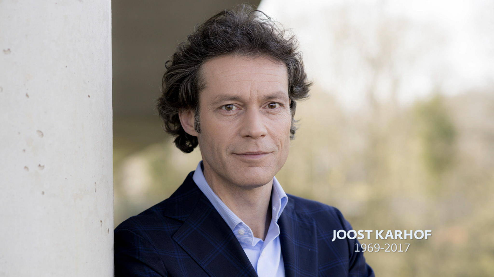 In memoriam: Joost Karhof   Nieuwsuur