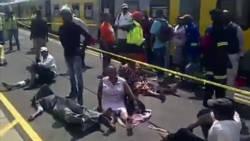 200 gewonden bij treinongeluk Johannesburg.