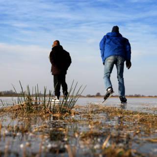 Friesland: niet varen maar vriezen