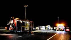 Zeven gewonden bij ongeluk op A15.