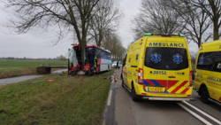 Kinderen gewond door ongeval met schoolbus.