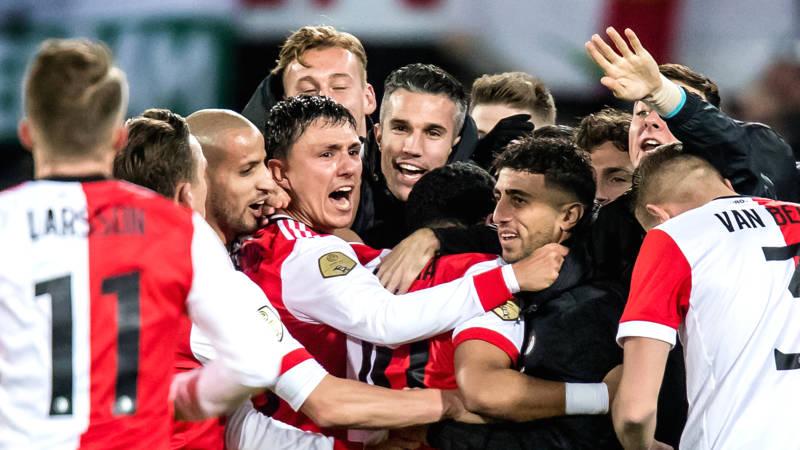 Image result for Feyenoord 2-0 PSV knvb beker