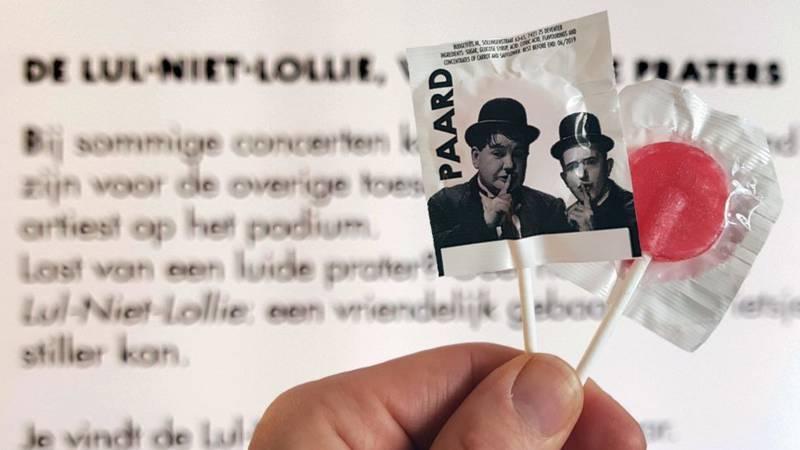 22 concertpodia zetten nu ook lul-niet-lollys in