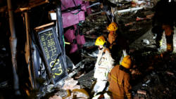 Busongeluk Hongkong eist achttien levens.