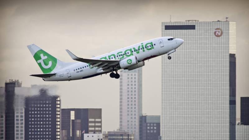 Transavia-piloten willen staken in krokusvakantie