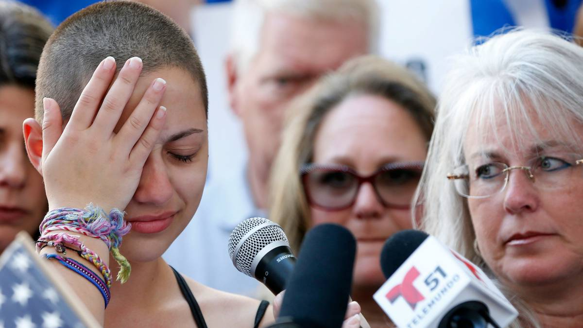 'Ga je schamen': overlevenden bloedbad Florida eisen actie