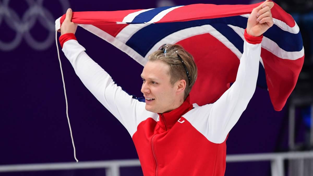 Lorentzen schenkt Noren na twee decennia weer olympisch schaatsgoud