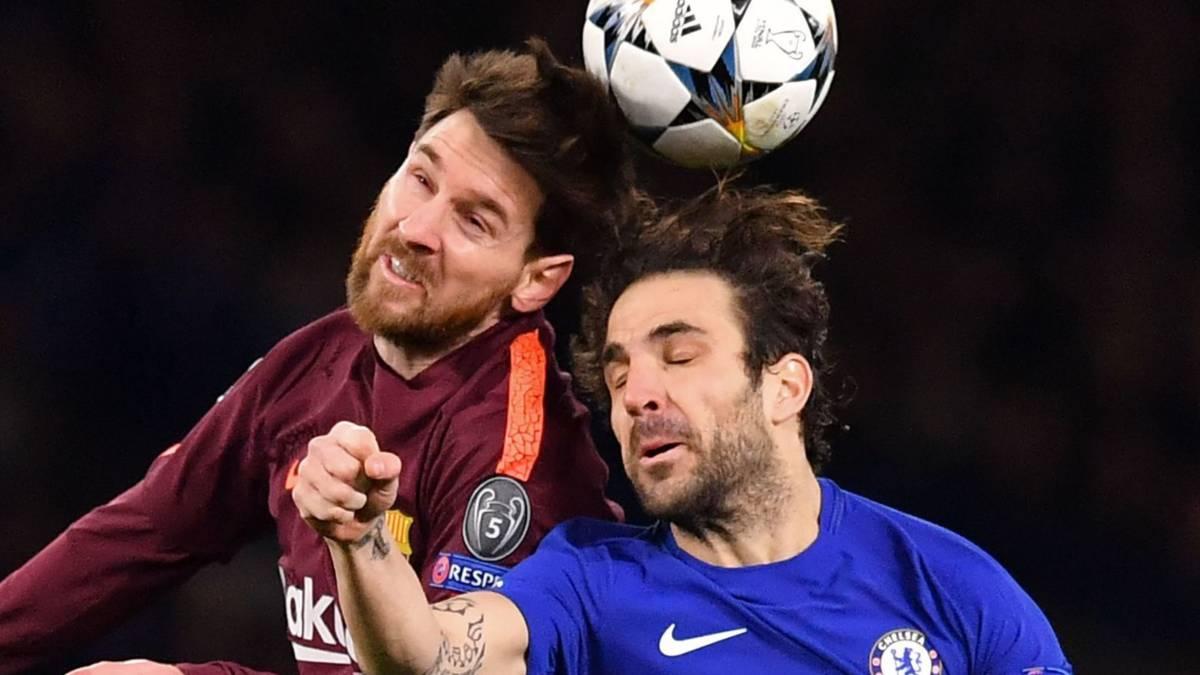 Messi voorkomt nederlaag Barça bij Chelsea