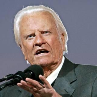 Billy Graham was het gezicht van het blije christendom