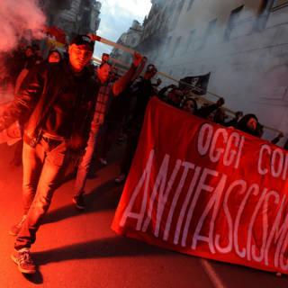 Bekijk details van Demonstraties in Italië aan vooravond verkiezingen