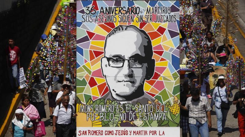 Romero commemorated in El Salvador